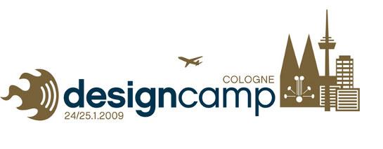 Logo des Designcamps in Köln