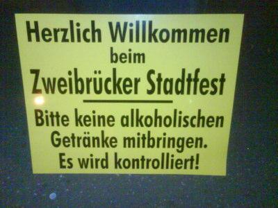 Zweibrücker Stadtfest 2008